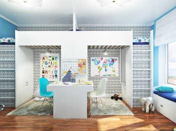 Варианты меблировки квартиры